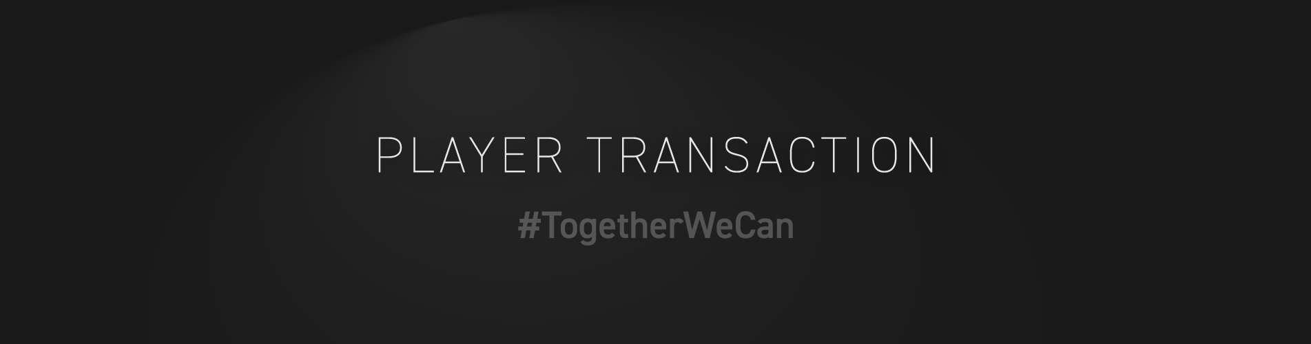 Player-transaction